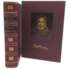 'Winner Take Nothing' Book by Ernest Hemingway, First Edition, circa 1933
