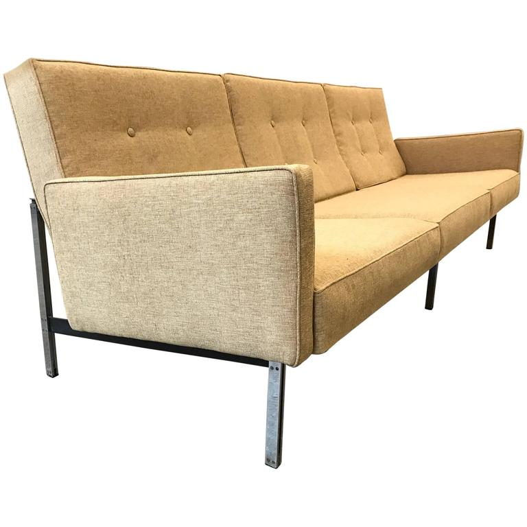 florence knoll sofa for sale at 1stdibs. Black Bedroom Furniture Sets. Home Design Ideas