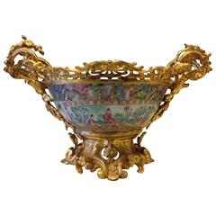 19th Century Cup in Canton Porcelain