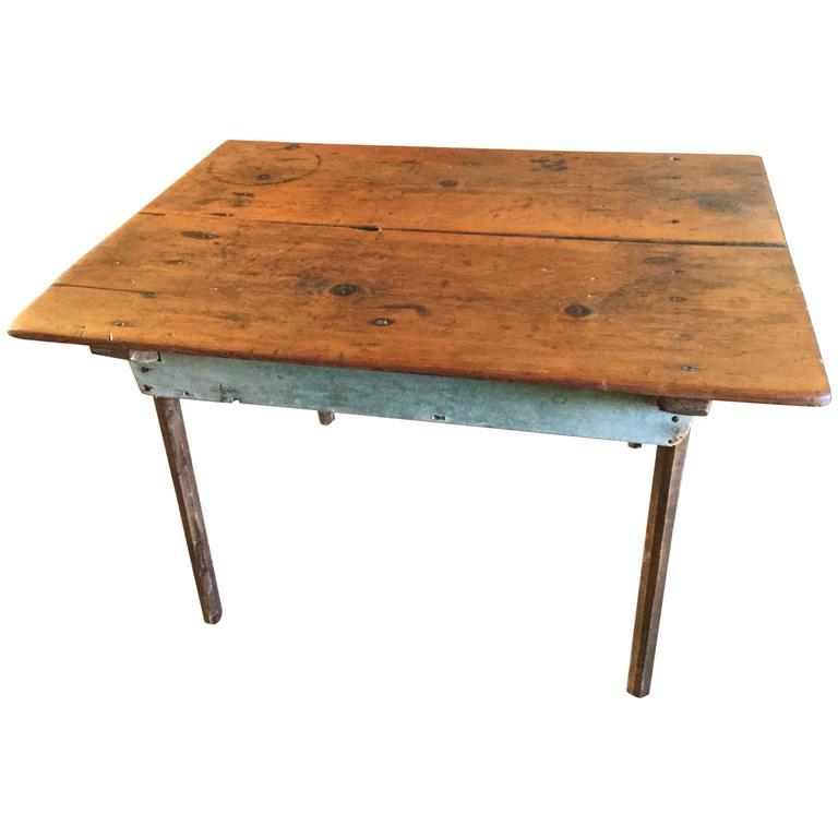 19th Century American Primitive Table