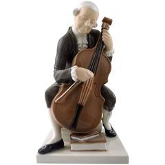 Bing & Grondahl Musician / Cellist B&G 2032 Man with Cello