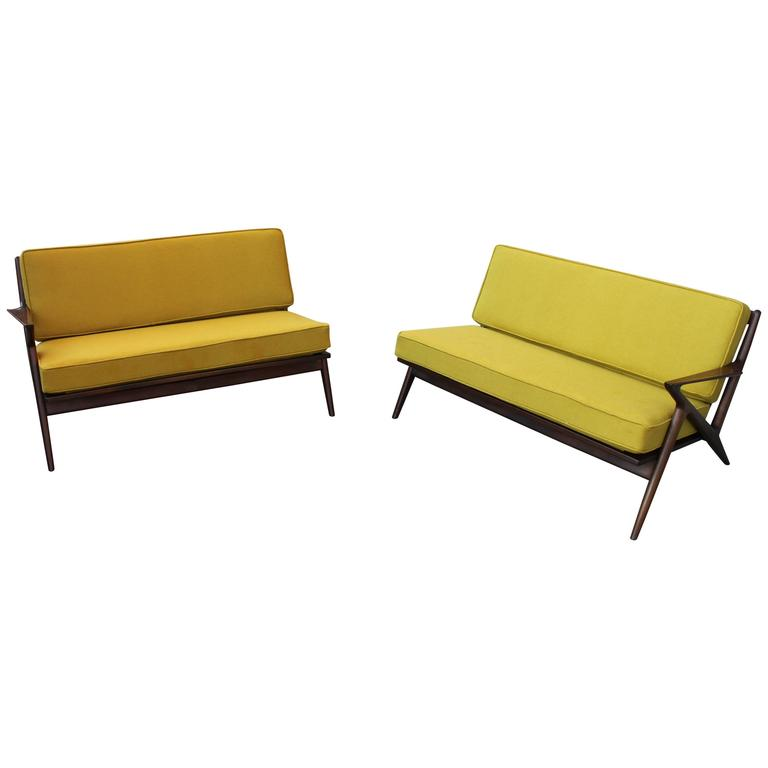 MidCentury Modern Poul Jensen ZSectional Sofa For Sale at 1stdibs