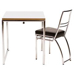 Eileen Grey Jean Table and Axia Chair