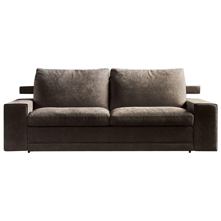 Italian Modern Sofa Bed SB05, Made in Italy, New, Fabric