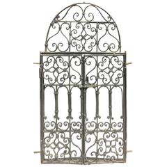 Late 19th Century French Iron Gates