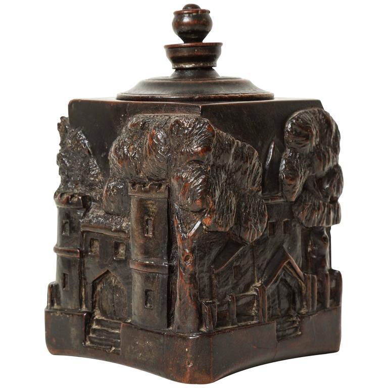 Unusual 18th Century Tobacco Jar, Possibly Irish 1