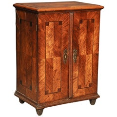 William and Mary Inlaid Collectors Cabinet