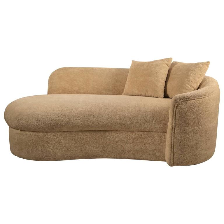 Sexy Deco Revival Sofa Chaise At 1stdibs