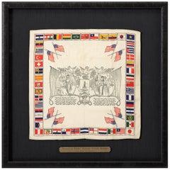 Farewell and Return Patriotic Sailors Bandana, circa 1917-1918