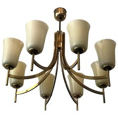 Large Swedish Chandelier, 1950s