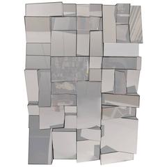 Cubist Mirror in the Style of Neal Small