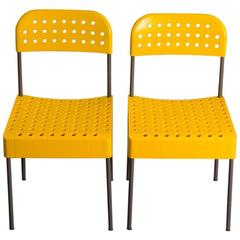 "Pair of Anomia Castelli ""Box Chairs,"" 1971, Italy"