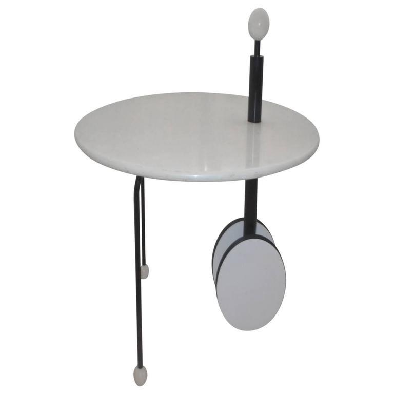 Italian Side Coffee Table by Memphis Designer Michele De Lucchi