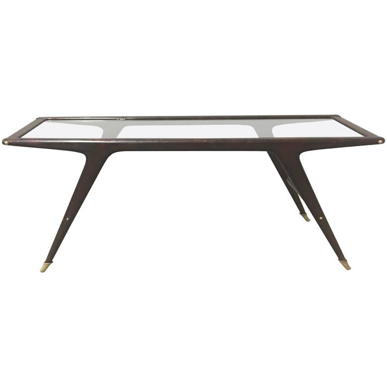 Stunning Coffee Table Attributed to Ico Parisi for Singer and Son