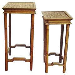 Late 19th Century Bamboo Stands