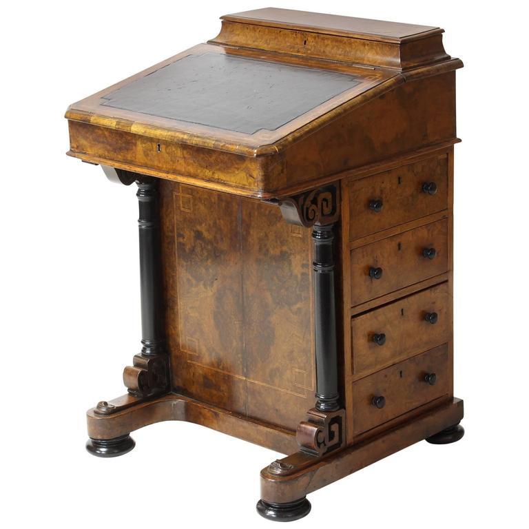 Mid 19th Century English Davenport Desk 1