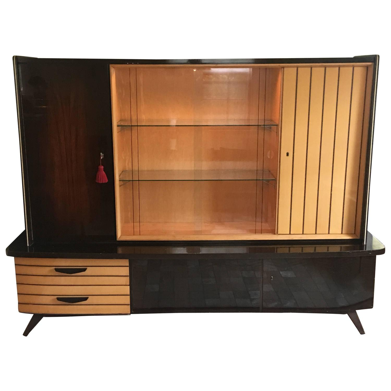 1950 S Mid Century Modern German Shrunk Cabinet For Sale