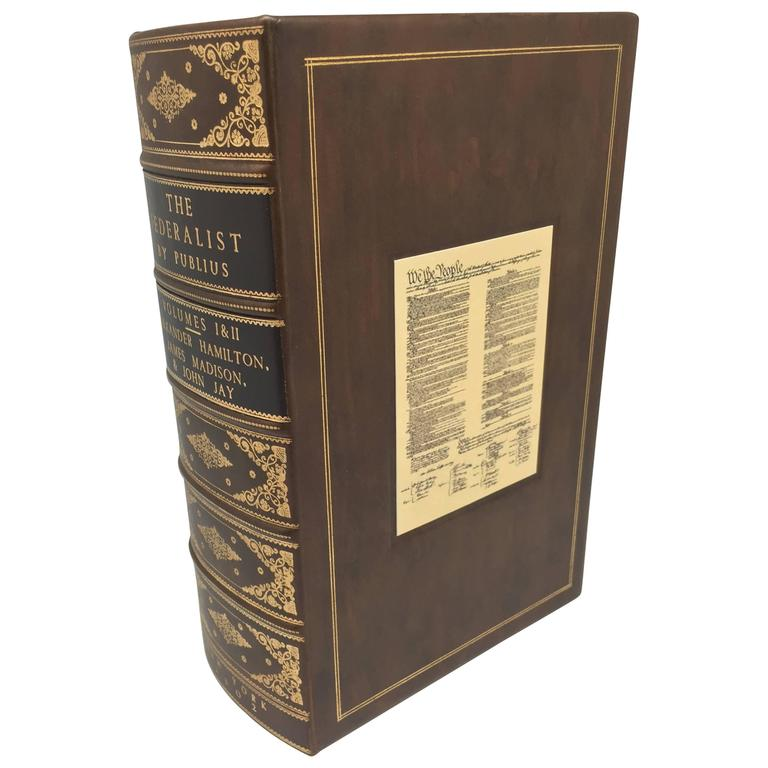 The Federalist, Rare Second Edition with Printing of the New Constitution, 1802