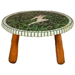 Good Quality Danish Mosaic Tile Top Coffee or Low Table