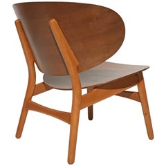 Shell Chair by Hans Wegner in Walnut and Beech