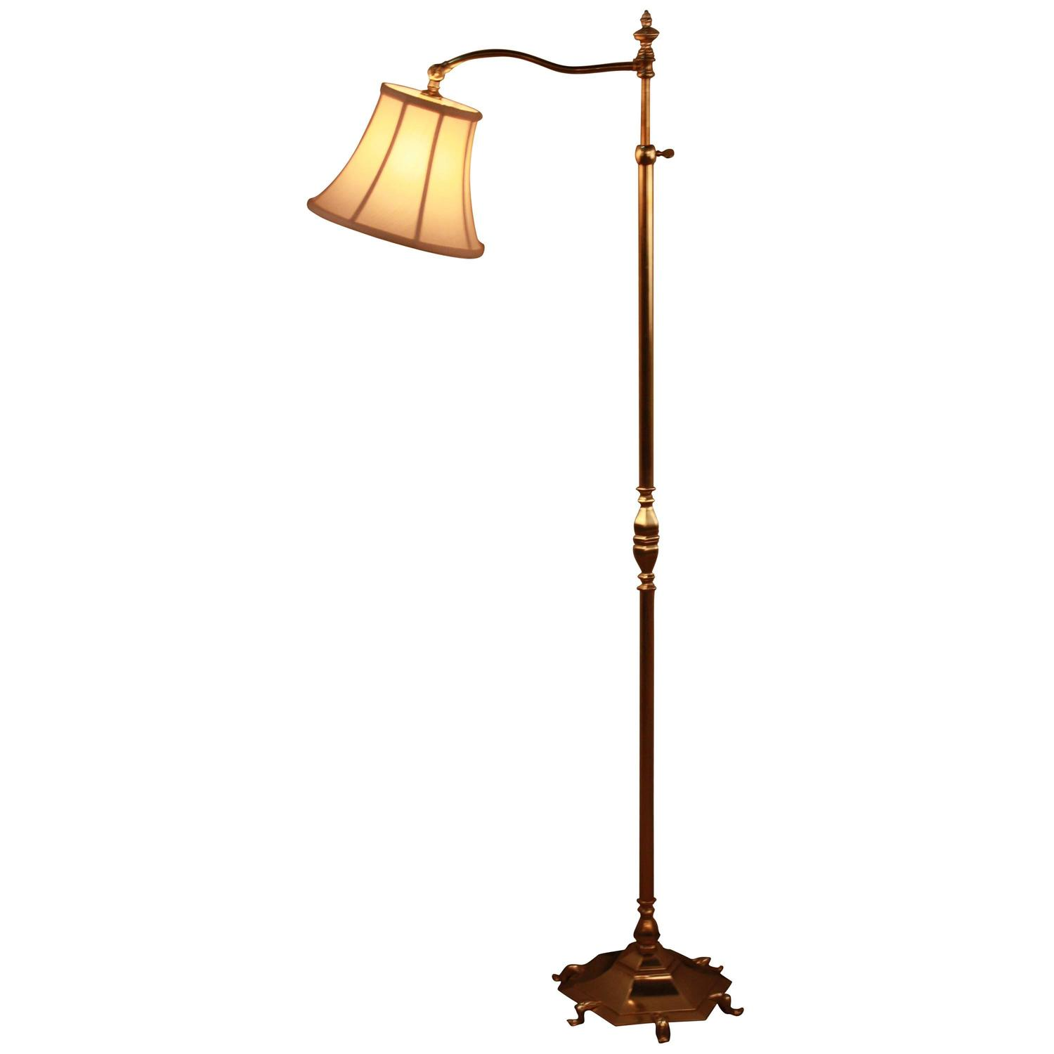 spanish bronze adjustable height floor lamp for sale at 1stdibs. Black Bedroom Furniture Sets. Home Design Ideas