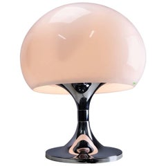 iGuzzini Large Chrome Table Lamp