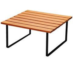 Slat Table by Dutch Architect, Holland, 1950