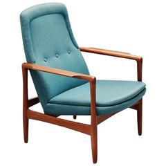 Ib Kofod Larsen Easy Chair Selig Imports, Denmark, 1962
