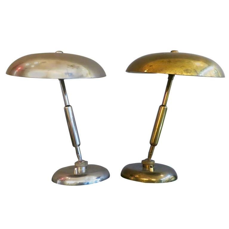 Pair of Mid-Century Table Lamps For Sale