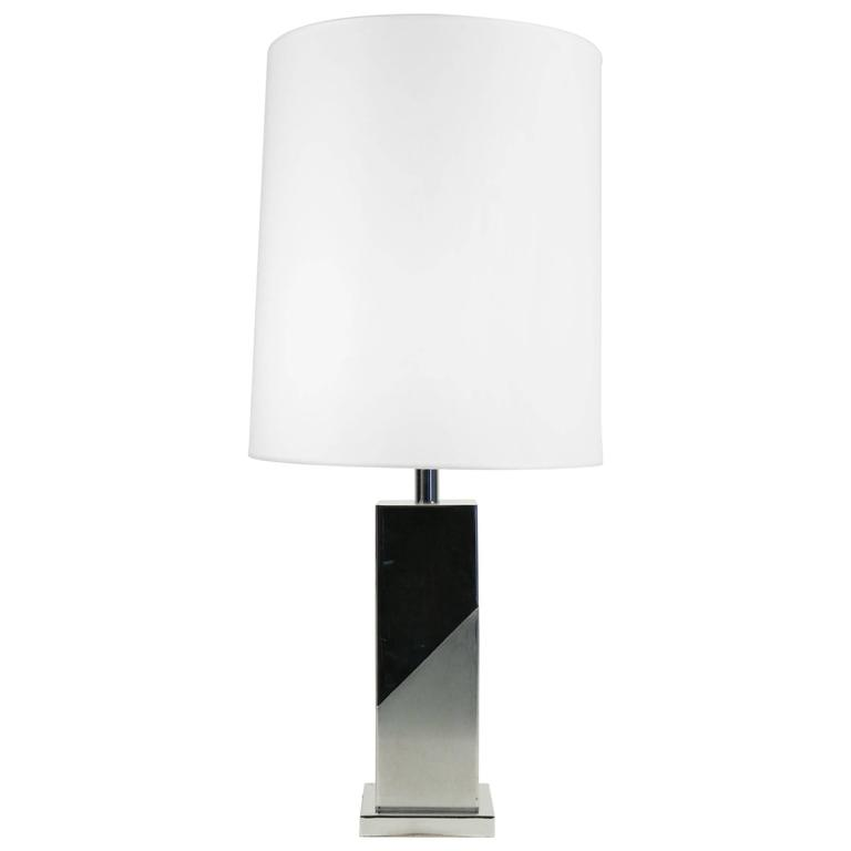 Lamp Inspired by the Cubist Movement or Brutalist