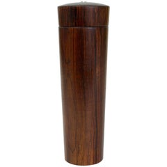 Beautiful Dansk Mid-Century Rosewood Pepper Mill, Denmark, 1950s