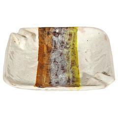 Raymor Italy Ceramic Hand-Painted Ashtray