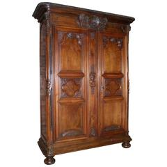 Monumental, Superb French Louis XIV Armoire