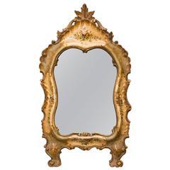 1920s Italian Painted Mirror