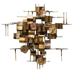 William Bowie Metal Wall Sculpture
