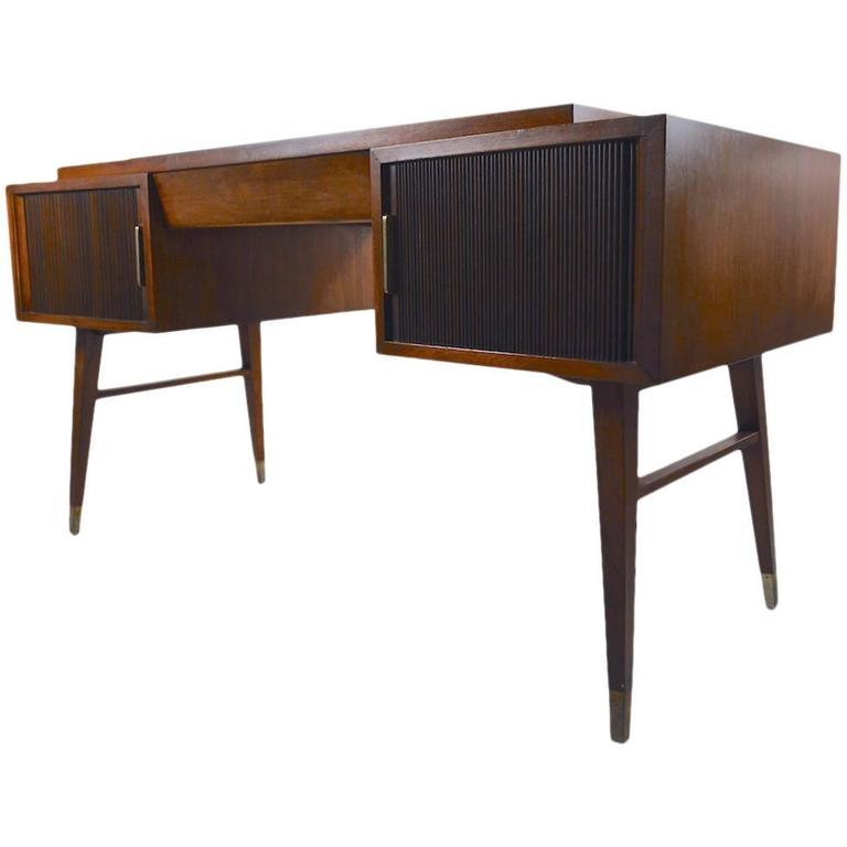 Sligh Lowry Tambour Roll Desk 1
