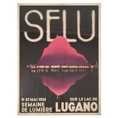 1934 Swiss Film Festival Poster