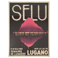 1934 SELU Swiss Film Festival Poster
