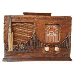 Rare RCA Victor 1939 Golden Gate International Exposition Art Deco Radio