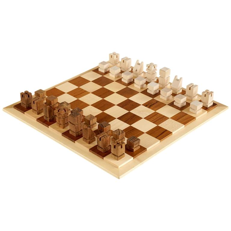 Danish Modern Chess Set By Henning Bang For Sale At 1stdibs