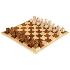 Danish Modern Chess Set by Henning Bang