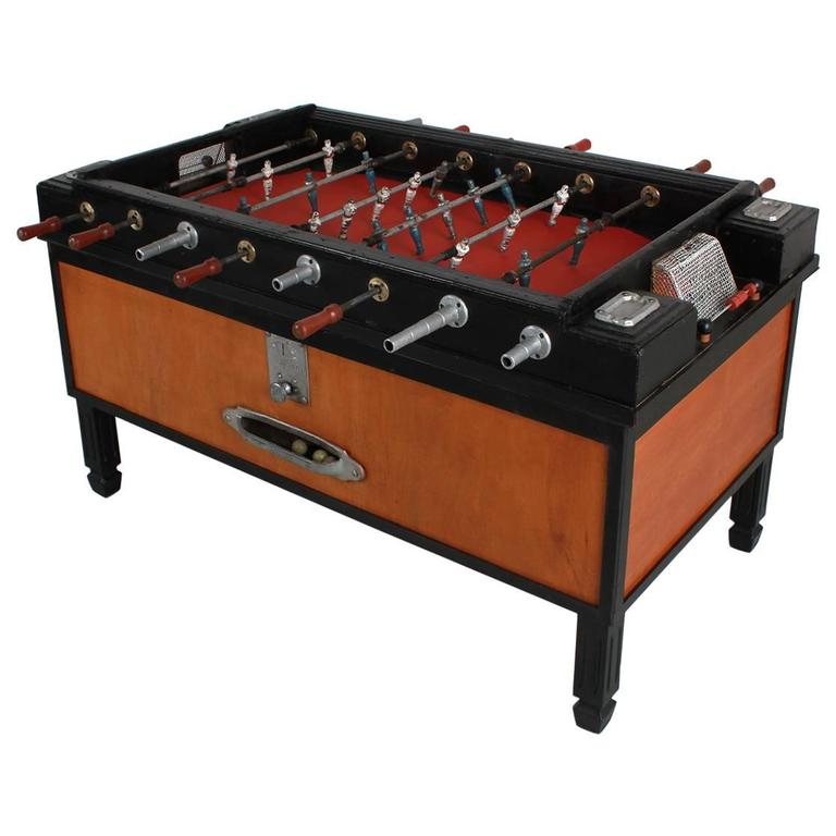 S Italian Foosball Table For Sale At Stdibs - Italian foosball table
