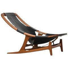 Arne Tidemand-Ruud Lounge Chair Model Holmenkollen by Norcraft in Norway