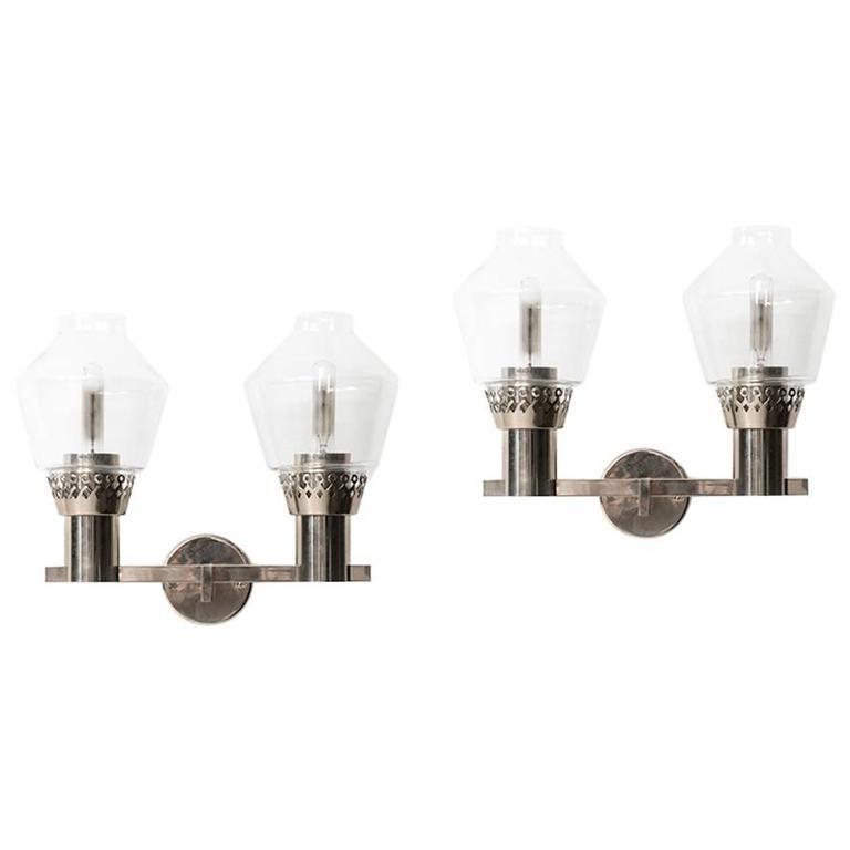 Hans-Agne Jakobsson Wall Lamps Model V-323/2