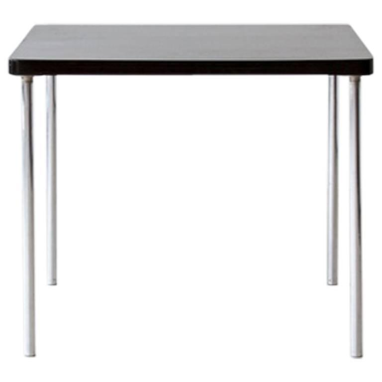 Bauhaus original tubular steel thonet b 14 table by for Table thonet