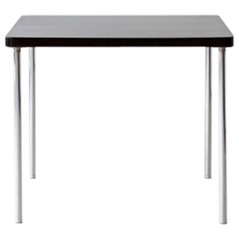 Bauhaus, Original Tubular Steel Thonet B 14 Table by Marcel Breuer, circa 1930 For Sale