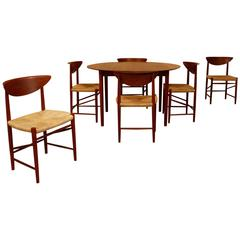 Peter Hvidt Table and Chairs