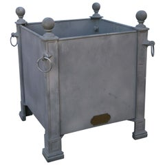 Versaille Gray Planter Boxes