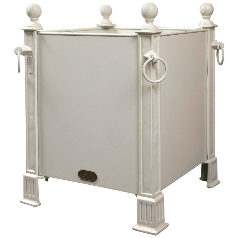 Versaille White Planter Boxes