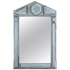 """Hollyhock """"Bébé"""" Mirror in Blue-Grey"""